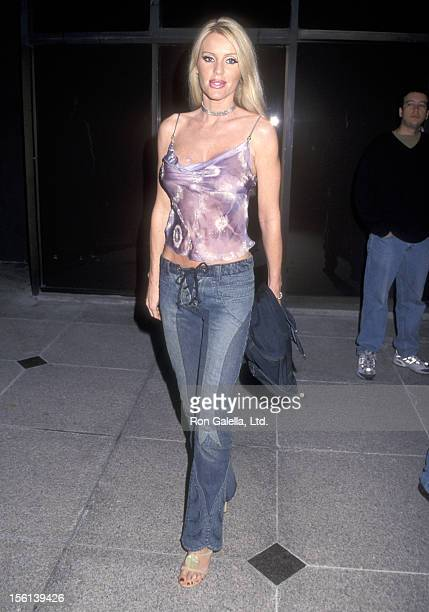 Actress Heather Elizabeth Parkhurst attends the 'Joe Dirt' Westwood Premiere on April 1 2001 at Avco Center Cinemas in Westwood California