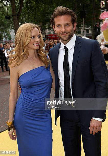 Actress Heather Graham and actor Bradley Cooper attend 'The Hangover' film premiere at Vue West End cinema on June 10 2009 in London England
