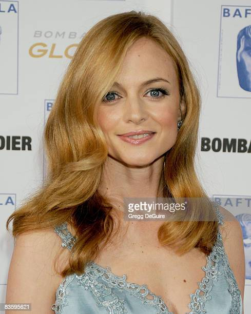Actress Heather Graham arrives at the 17th Annual BAFTA/LA Britannia Awards at the Hyatt Regency Century Plaza Hotel on November 6 2008 in Century...