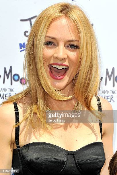 """Actress Heather Graham arrives at the """"Judy Moody And The NOT Bummer Summer"""" Los Angeles Premiere at ArcLight Hollywood on June 4, 2011 in Hollywood,..."""
