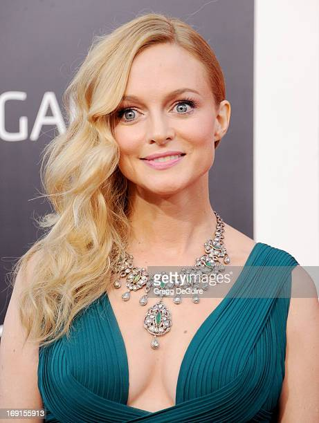 """Actress Heather Graham arrives at the Los Angeles premiere of """"The Hangover III"""" at Mann's Village Theatre on May 20, 2013 in Westwood, California."""