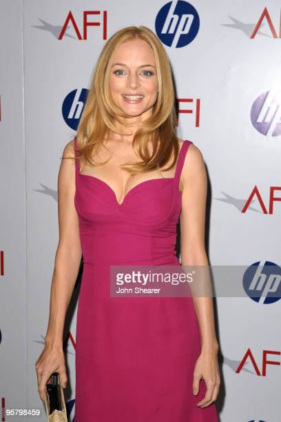 Actress Heather Graham arrives at the Tenth Annual AFI Awards 2009 held at Four Seasons Beverly Hills on January 15 2010 in Los Angeles California