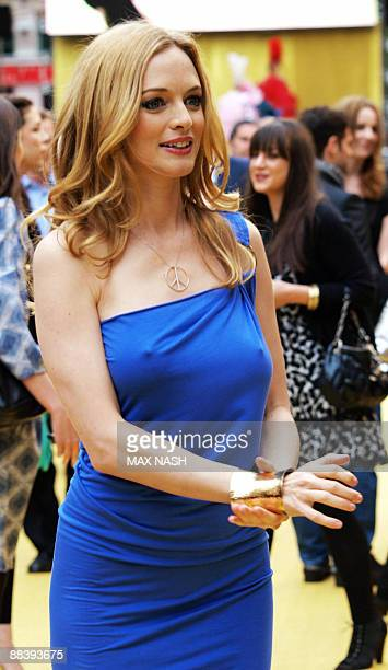 US actress Heather Graham arrives in London's Leicester Square on June 10 2009 to attend the British Premiere of her latest film The Hangover AFP...