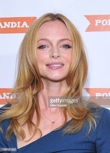 Actress Heather Graham attends a screening of Portlandia at The Edison Ballroom on January 19 2011 in New York City