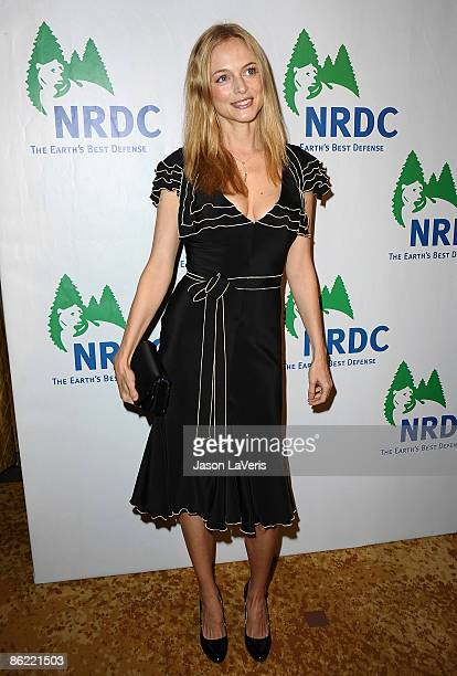 Actress Heather Graham attends Natural Resources Defense Council's 20th anniversary celebration at the Beverly Wilshire Hotel on April 25, 2009 in...
