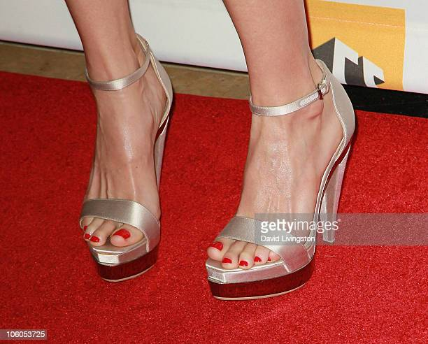 Actress Heather Graham attends the 14th annual Hollywood Awards Gala at The Beverly Hilton Hotel on October 25 2010 in Beverly Hills California
