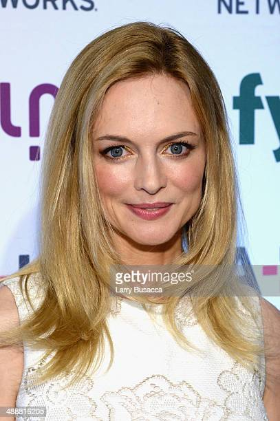 Actress Heather Graham attends the 2014 AE Networks Upfront on May 8 2014 in New York City