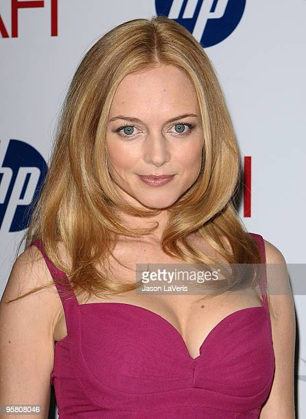Actress Heather Graham attends the AFI Awards 2009 luncheon at Four Seasons Hotel on January 15 2010 in Beverly Hills California