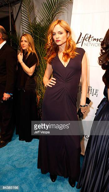 Actress Heather Graham attends The Creative Coalition's Inaugural Ball at the Harmon Center for the Arts on January 20 2009 in Washington DC