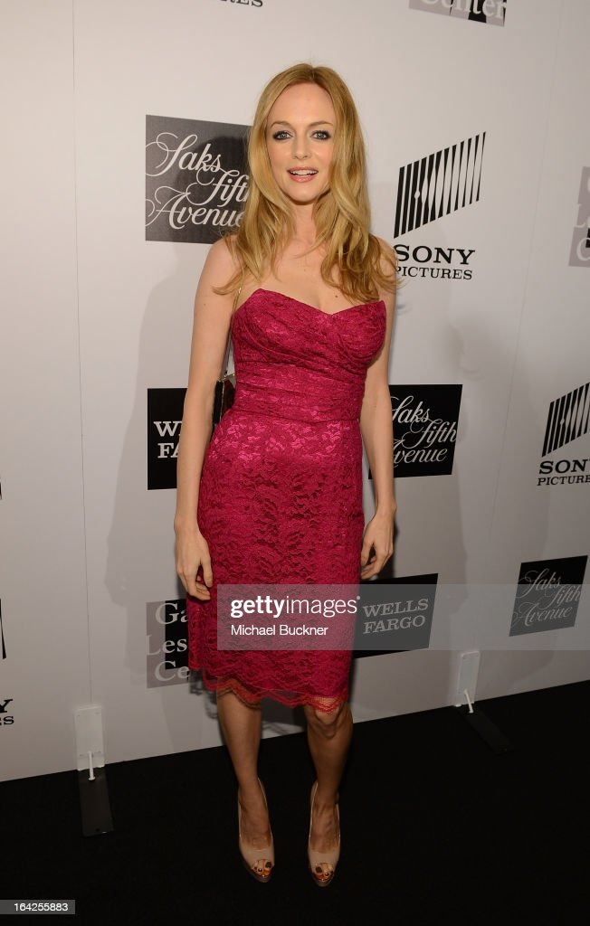 Actress Heather Graham attends the 'Evening Benefitting The L.A. Gay & Lesbian Center Honoring Amy Pascal and Ralph Rucci' at the Beverly Wilshire Four Seasons Hotel on March 21, 2013 in Beverly Hills, California.