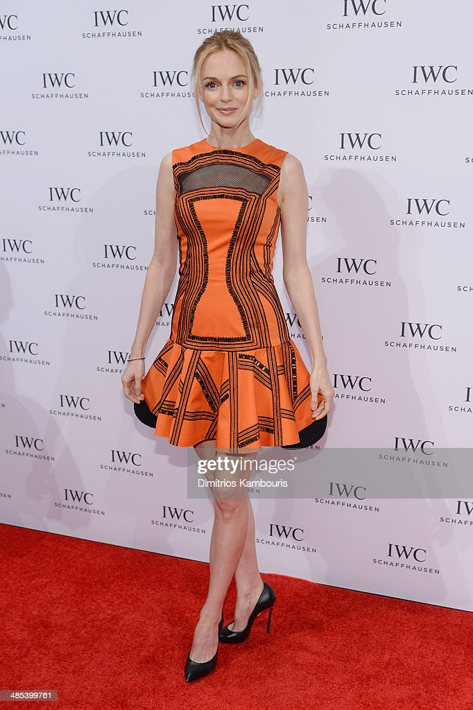 Actress Heather Graham attends the 'For the Love of Cinema' dinner hosted by IWC Schaffhausen and Tribeca Film Festival at Urban Zen on April 17, 2014 in New York City.