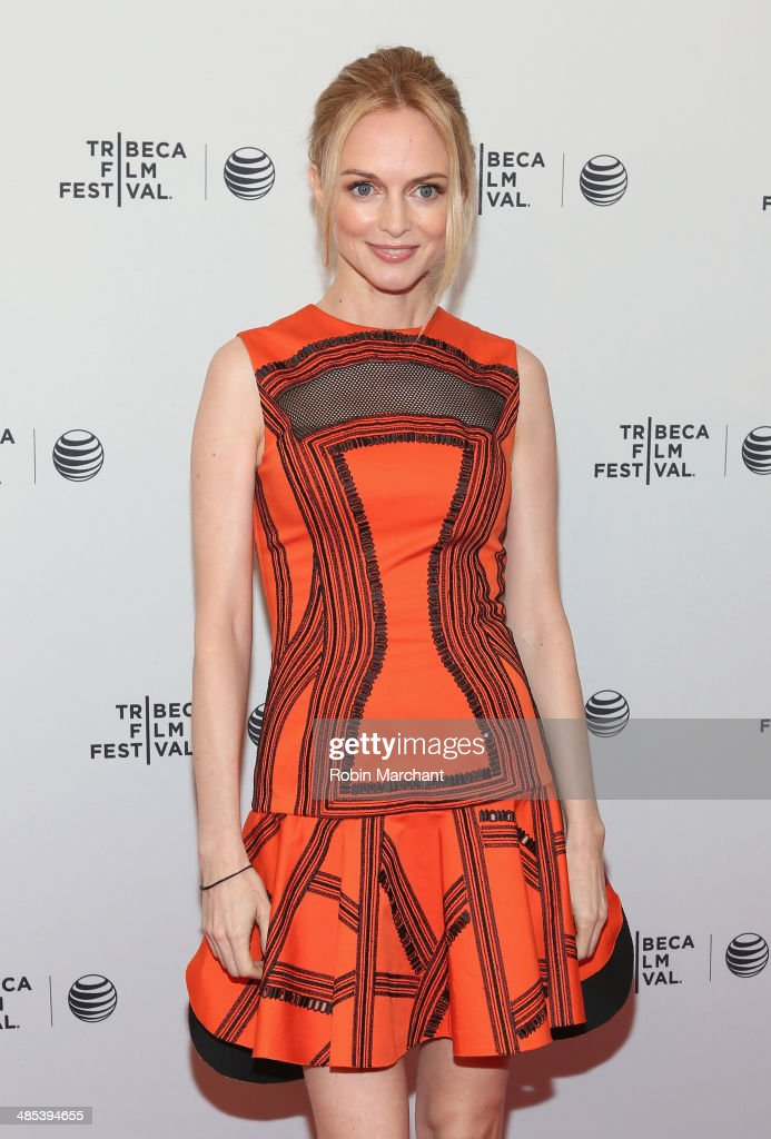 Actress Heather Graham attends the 'Goodbye To All That' Premiere during the 2014 Tribeca Film Festival at the SVA Theater on April 17, 2014 in New York City.