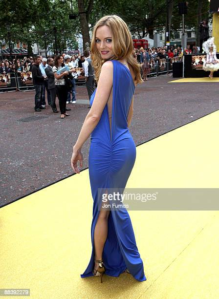 Actress Heather Graham attends 'The Hangover' film premiere at Vue West End cinema on June 10 2009 in London England