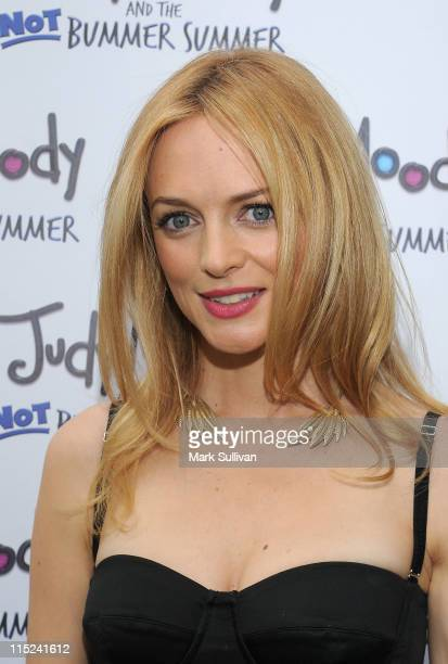 """Actress Heather Graham attends the Los Angeles premiere of """"Judy Moody And The Not Bummer Summer"""" at ArcLight Hollywood on June 4, 2011 in Hollywood,..."""