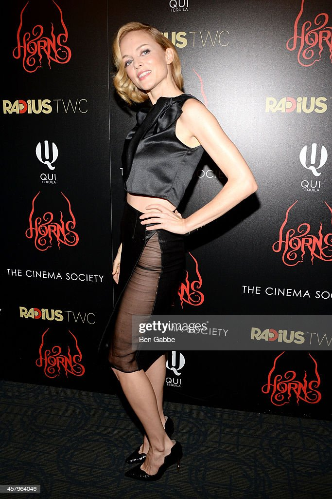 """RADiUS TWC And The Cinema Society Host The New York Premiere Of """"Horns"""""""
