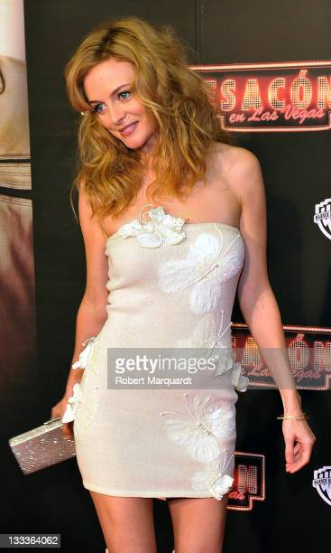 Actress Heather Graham attends the Spanish premiere of 'The Hangover' at Aribau Cinema on August 11 2009 in Barcelona Spain