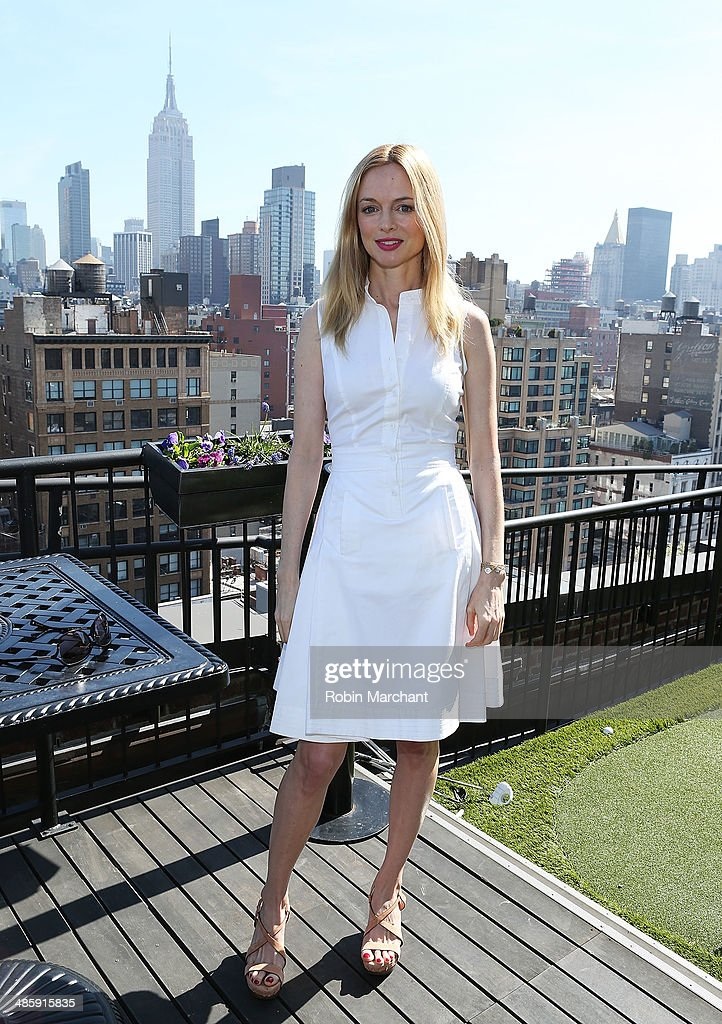 Actress Heather Graham attends Women's Film Brunch at Company 3 on April 21, 2014 in New York City.
