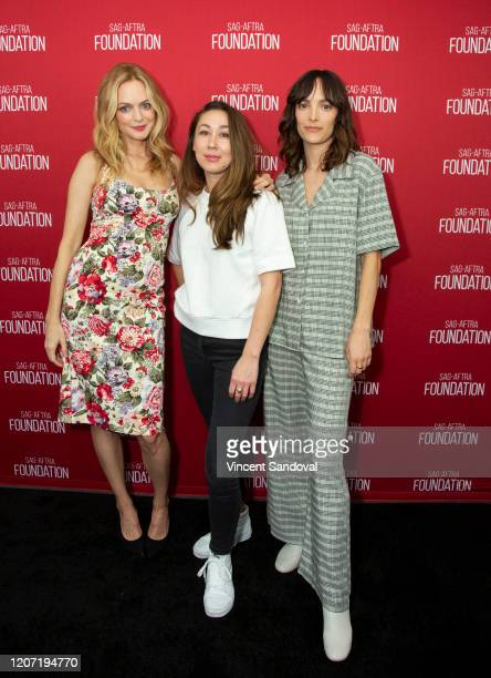 Actress Heather Graham Director Aisling ChinYee and Actress Jodi Balfour attend SAGAFTRA Foundation Conversations presents The Rest Of Us at SAGAFTRA...