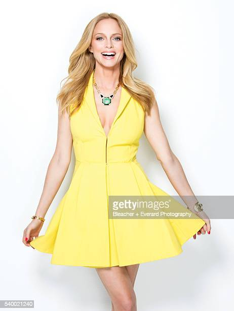 Actress Heather Graham is photographed for Glamour Mexico on March 11 2013 in New York City Styling Jordan Johnson Makeup Jo Strettel Hair Ian James...