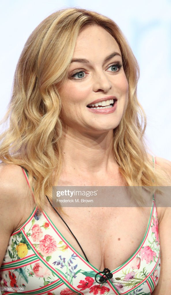 Actress Heather Graham of the television show