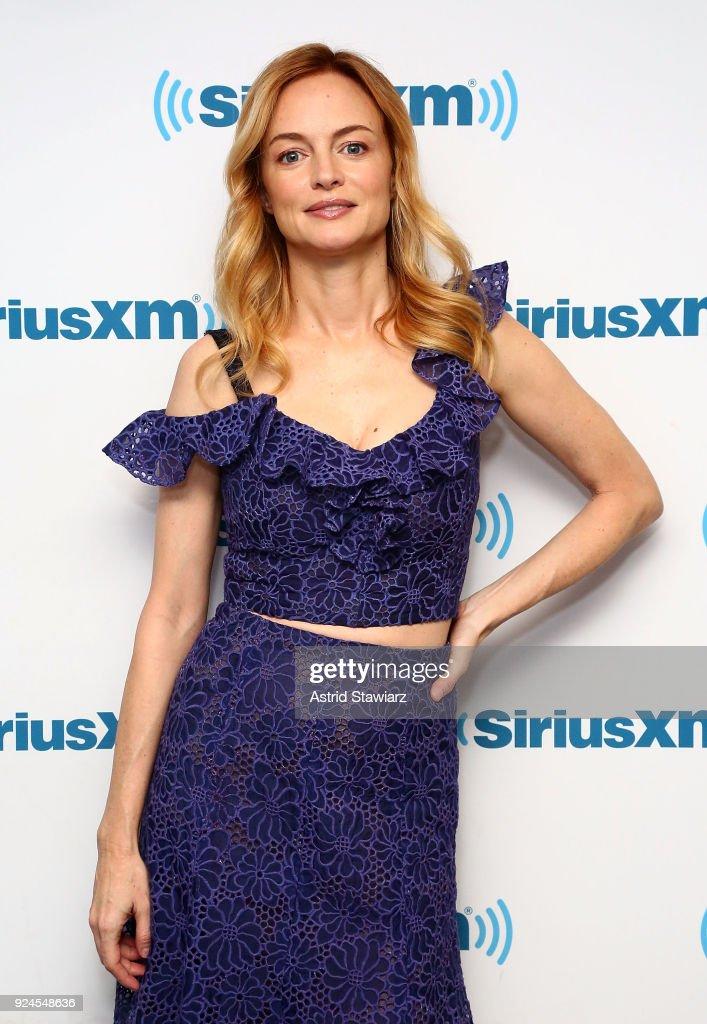 Celebrities Visit SiriusXM - February 26, 2018 : News Photo