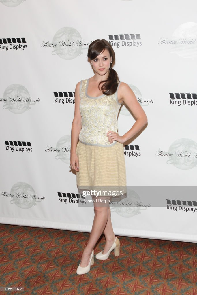 Actress Heather Lind attends the 67th annual Theatre World Awards Ceremony at the August Wilson Theatre on June 7, 2011 in New York City.