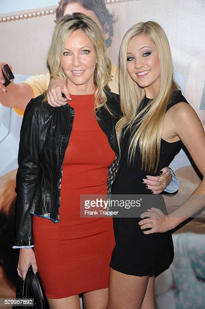 Actress Heather Locklear and daughter actress Ava Sambora arrives at the premiere of This Is 40 held at Grauman's Chinese Theater in Hollywood