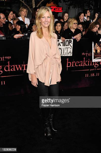 Actress Heather Locklear arrives at Summit Entertainment's The Twilight Saga Breaking Dawn Part 1 premiere at Nokia Theatre LA Live on November 14...