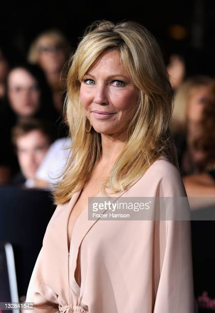 Actress Heather Locklear arrives at Summit Entertainment's 'The Twilight Saga Breaking Dawn Part 1' premiere at Nokia Theatre LA Live on November 14...