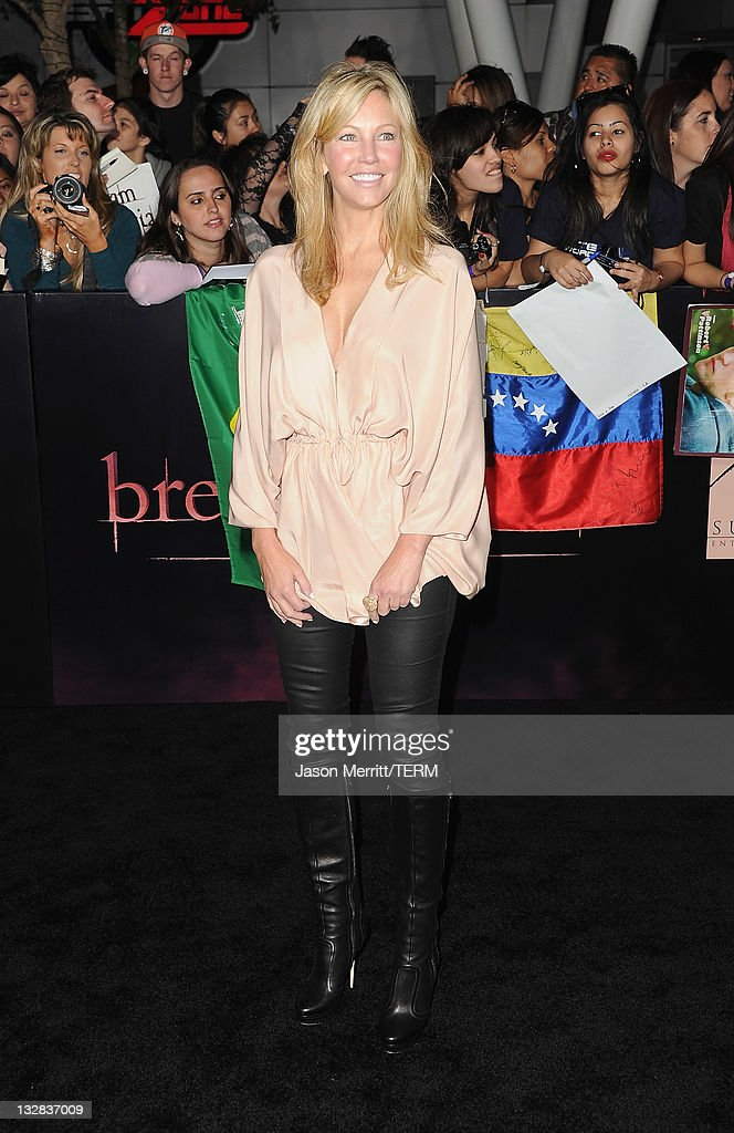 Actress Heather Locklear arrives at the Premiere of Summit