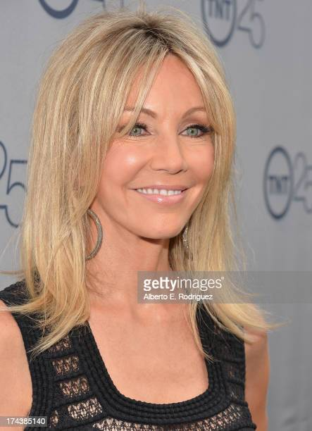 Actress Heather Locklear arrives to TNT's 25th Anniversary Party at The Beverly Hilton Hotel on July 24 2013 in Beverly Hills California