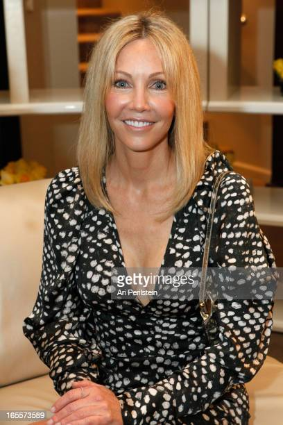 Actress Heather Locklear attends FENDI CASA event for DEC MY ROOM LA with Architectural Digest at FENDI Casa on April 4 2013 in Los Angeles California