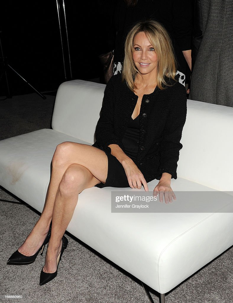 Actress Heather Locklear attends the 2013 TNT/TBS Upfront presentation at Hammerstein Ballroom on May 15, 2013 in New York City.