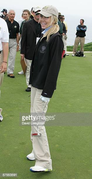 Actress Heather Locklear attends the 8th annual Michael Douglas & Friends Golf Tournament presented by Lexus at the Trump National Golf Club on May...