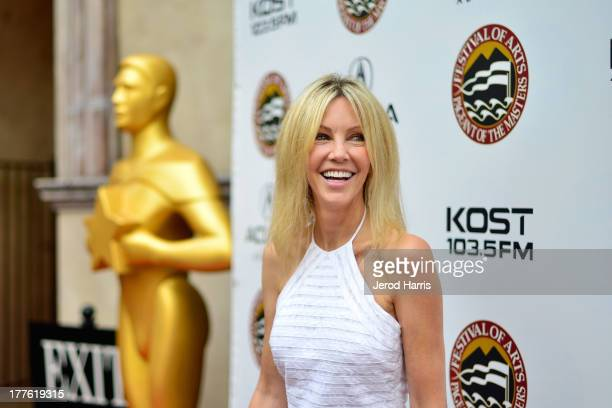 Actress Heather Locklear attends the Acura/KOST celebrity benefit concert and pageant on August 24 2013 in Laguna Beach California