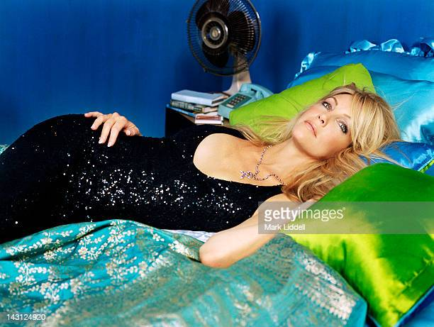 Actress Heather Locklear is photographed for InStyle Magazine on August 1 2002 in Los Angeles California