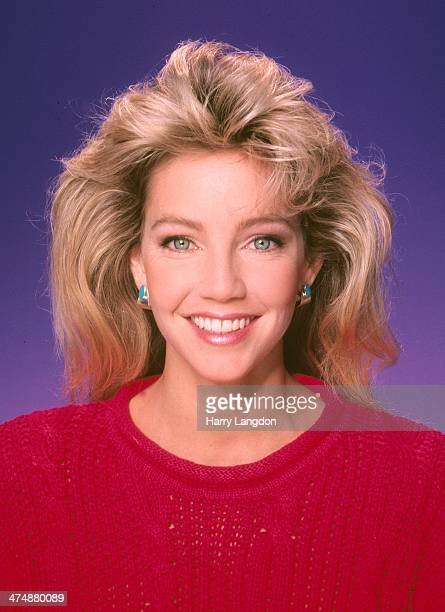 Actress Heather Locklear poses for a portrait in 1987 in Los Angeles California