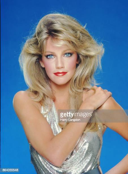 Actress Heather Locklear rposes for a portrait in 1981 in Los Angeles California