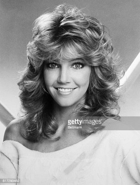 Actress Heather Locklear who appeared in Dynasty 1986 Later in TJ Hooker Melrose Place and Spin City