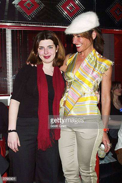 Actress Heather Matarazzo and director/actress Vanessa Parise attends the Gen Art Film Festival closing night party for the premiere of XX/YY April 8...