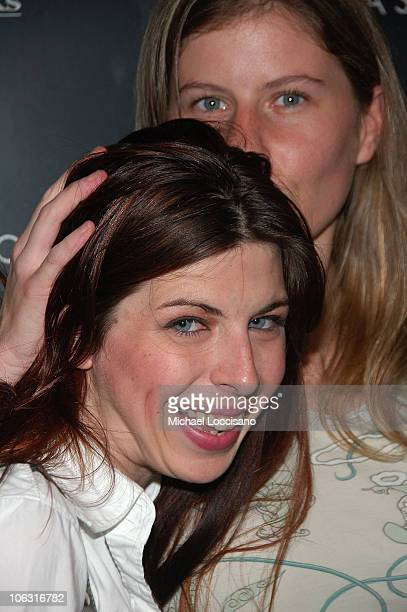 Actress Heather Matarazzo and girlfriend Caroline Murphy arrive to the Cinema Society's special screening Of Things We Lost In The Fire at the...
