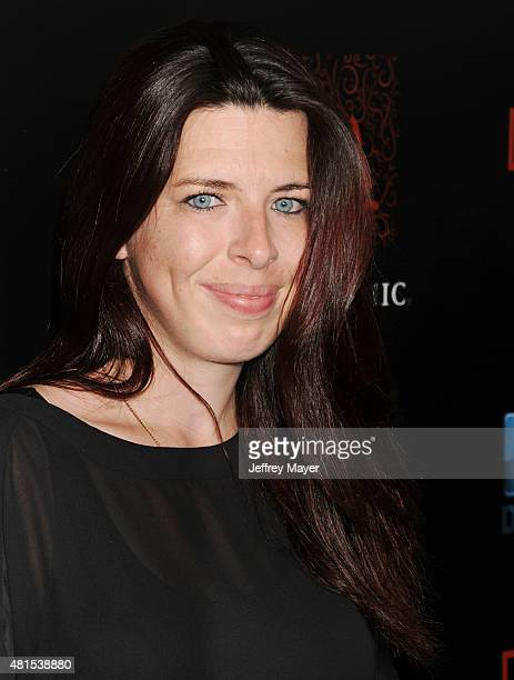 Actress Heather Matarazzo arrives at the Premiere Of DIRECTV's 'Dark Places' at Harmony Gold Theatre on July 21 2015 in Los Angeles California