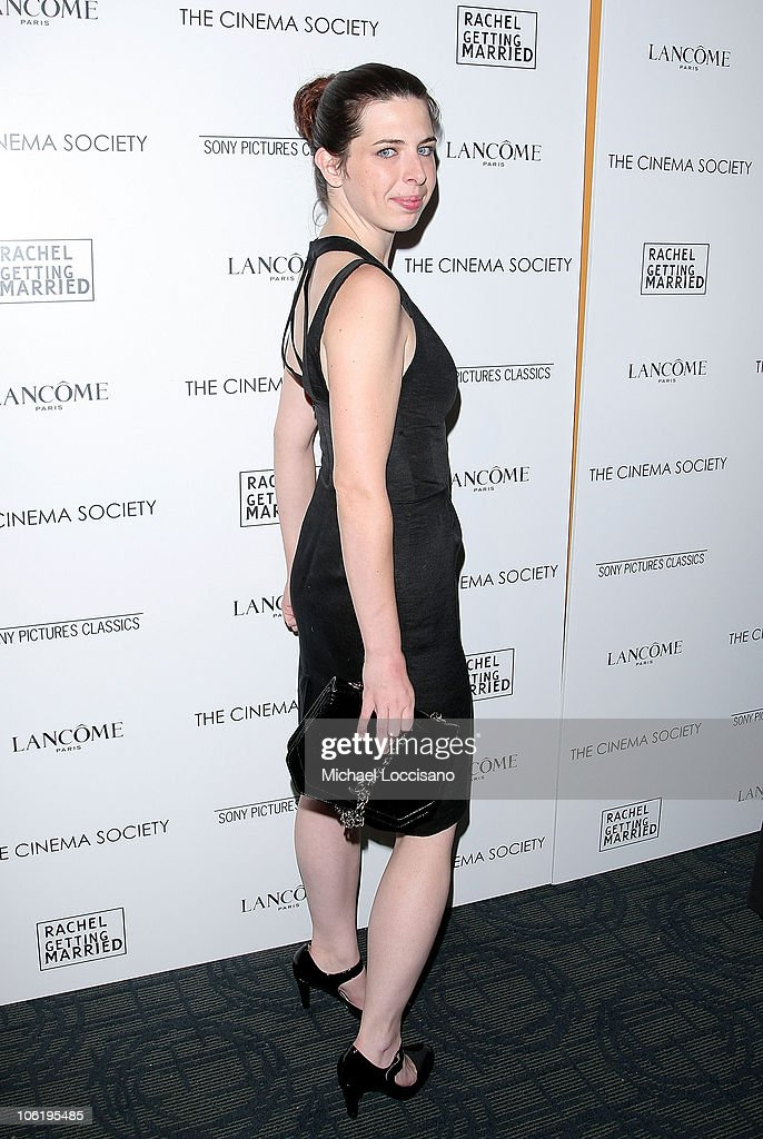Actress Heather Matarazzo attends a screening of 'Rachel Getting Married' hosted by The Cinema Society and Lancome at the Landmark Sunshine Theatre on September 25, 2008 in New York City.