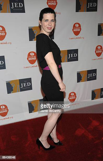 Actress Heather Matarazzo attends the 8th Annual Jed Foundation Gala at Guastavino's on June 11 2009 in New York City