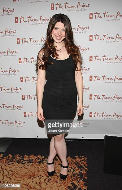 Actress Heather Matarazzo attends the 8th Annual Trevor Project Benefit Gala at The Mandarin Oriental Hotel on June 30 2008 in New York City