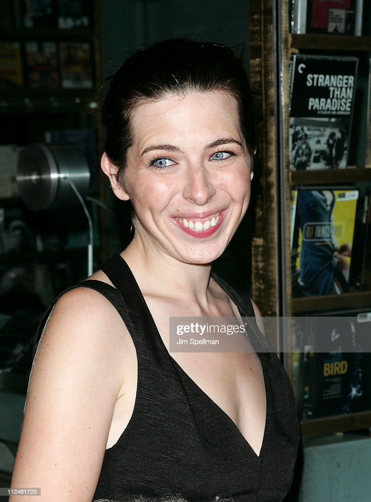Actress Heather Matarazzo attends the Cinema Society and Lancome screening of 'Rachel Getting Married' at the Landmark Sunshine Theater on September 25, 2008 in New York City.