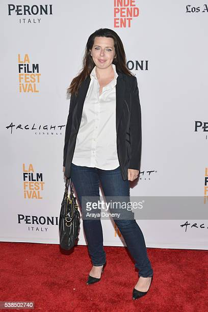 Actress Heather Matarazzo attends the premiere of Girl Flu during the 2016 Los Angeles Film Festival at Arclight Cinemas Culver City on June 6 2016...