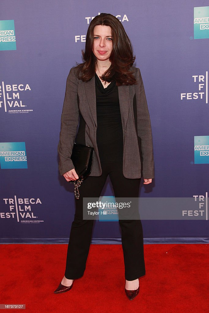 Actress Heather Matarazzo attends the screening of 'Battle of amfAR' & Beyond The Screens: The Artist's Angle during the 2013 Tribeca Film Festival at SVA Theater on April 24, 2013 in New York City.