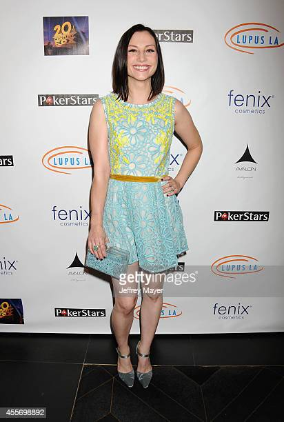 Actress Heather McComb attends the Stars Get Lucky For Lupus 6th Annual Poker Tournament at Avalon on September 18 2014 in Hollywood California