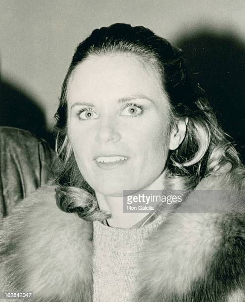 Actress Heather Menzies attending Kennedy Center Honors Gala on January 12 1984 at the Kennedy Center in Washington DC